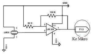 Sensor Suhu dengan LM35
